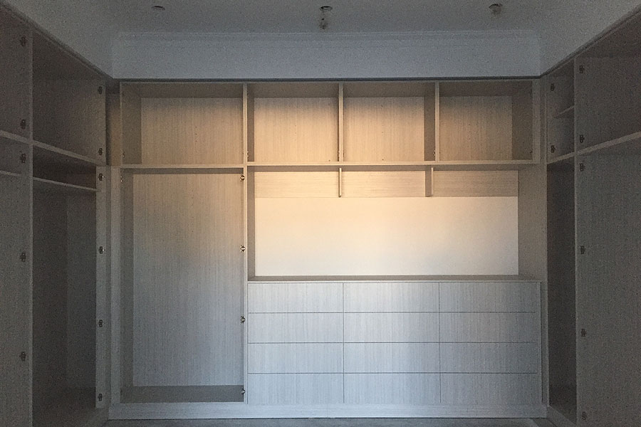 built-in robe (BIR) or walk-in wardrobes