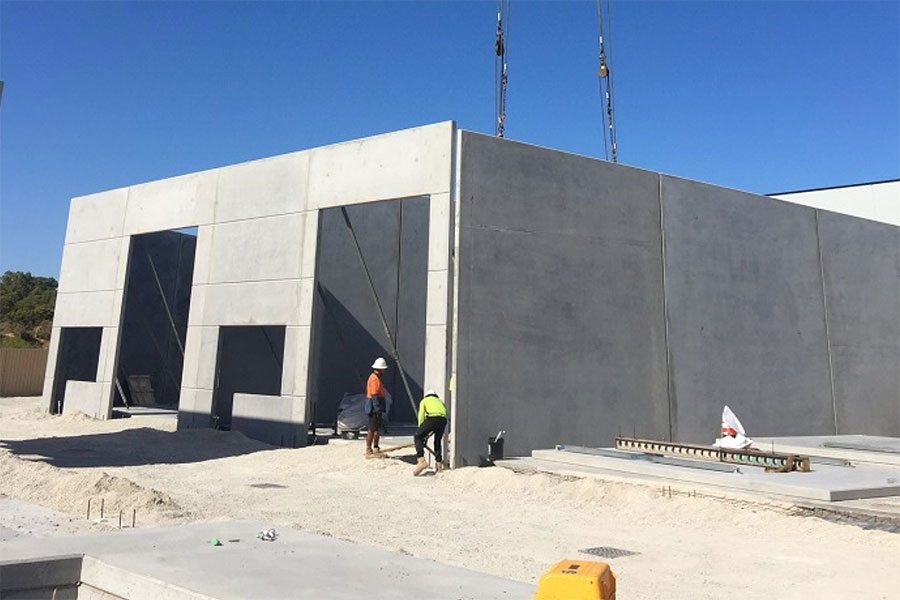 tilt panel with garage doors